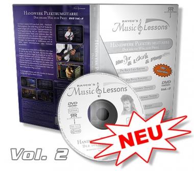 """RML - """"Handwerk Plektrumgitarre"""" - DVD 2 (Standard)"""